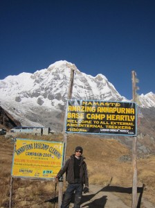Annapurna Base Camp entry