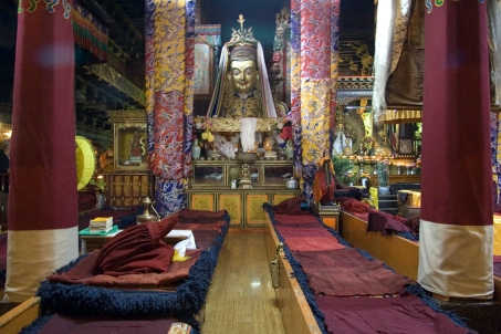 Inside Jokhang temple