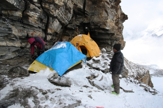 High Camp at Mera